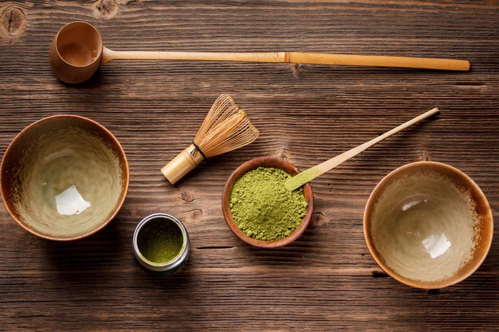 Matcha tea készítésre fel!