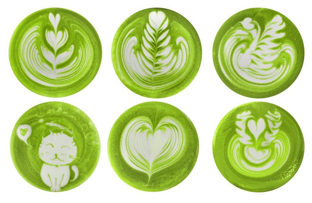 Matcha latte art, aminek csak a képzelet szab határt!