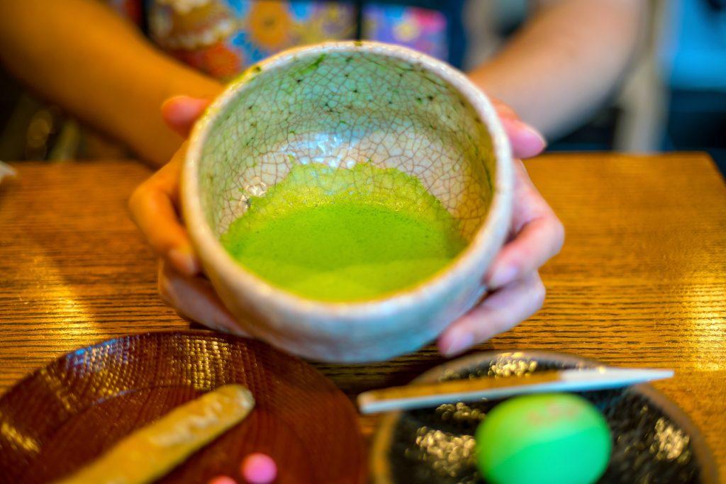 Hagyományos kyotói matcha tea